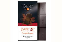 Nieuwe tablet zonder toegevoegde suikers van Galler