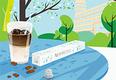 1ste Nespresso Ice Bar in België landt 22 & 23 juni op Brussels Flageyplein