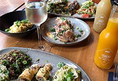 Brunch poisson, viande ou veggie chez DJO