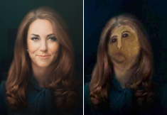 Le portrait raté de Kate Middleton