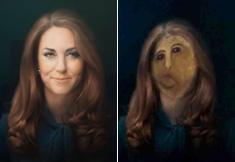 Le portrait raté de Kate Middleton