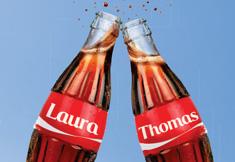 Jouw persoonlijk Coca-Cola flesje