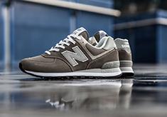 New Balance, l'Iconique 574 Classic Grey