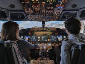 Win een vlucht in de vliegsimulator van een Boeing 737 voor je bedrijf!