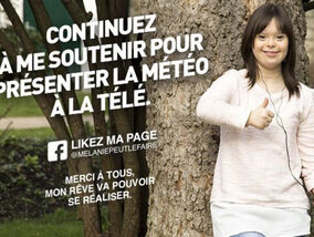 Atteinte de trisomie 21, Mélanie va présenter la météo sur France 2
