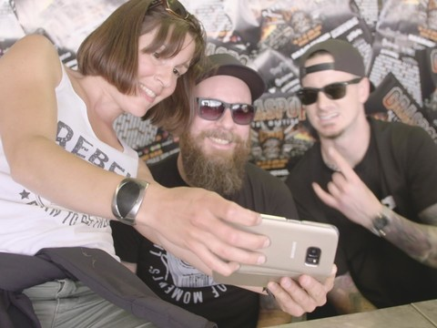 In Flames Signing