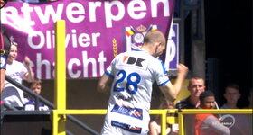 Anderlecht 0 - 1  KAA Gent, Nicklas PEDERSEN : 2', Goal