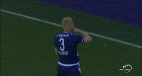 Anderlecht 1 - 1 KAA Gent, Olivier DESCHACHT : 20', Goal