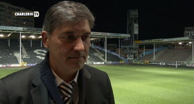 Charleroi TV - News 25/04/2016 Reactie Felice Mazzu na Mechelen! (FR)