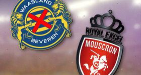Waasland-Beveren 1 - 0 Moeskroen-Peruwelz