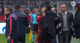 Ribery versus Simeone