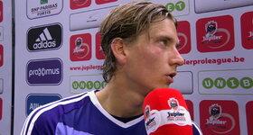 Interview RSC Anderlecht (RSC Anderlecht - Z. Waregem)