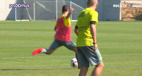 RSCA TV - First training Harbaoui & Bruno!