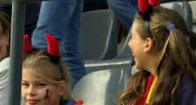 Red Flames 0 - 2 Engeland