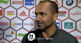 Interview Roberto Martinez 20/09/2016