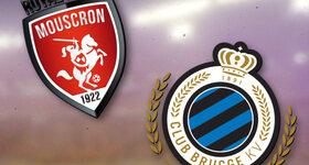 Mouscron-Peruwelz 0 - 3 Club Brugge