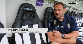 Charleroi TV - Interview Philippe Simonin