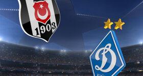 Goal: Besiktas 1 - 1 FC Dynamo Kyiv
