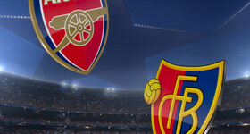 Arsenal FC 2 - 0 FC Basel 1893
