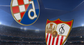 Goal: GNK Dinamo Zagreb 0 - 1 Sevilla FC
