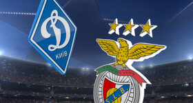 Goal: FC Dynamo Kyiv 0 - 2 SL Benfica