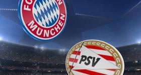 Goal: FC Bayern München 4 - 1 Psv Eindhoven