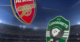 Arsenal FC 6 - 0 Pfc Ludogorets Razgrad