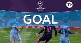 Goal: Manchester City FC 0 - 1 FC Barcelona