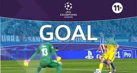 Goal: Atletico Madrid 1 - 1 FK Rostov