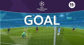 Goal: Manchester City FC 1 - 1 FC Barcelona