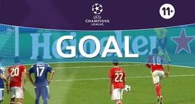 Goal: SL Benfica 1 - 0 FC Dynamo Kyiv