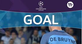 Goal: Manchester City FC 2 - 1 FC Barcelona