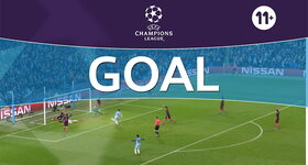 Goal: Manchester City FC 3 - 1 FC Barcelona