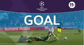 Goal: Pfc Ludogorets Razgrad 2 - 3 Arsenal FC