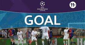 Goal: FC Basel 1893 1 - 2 Paris Saint-Germain