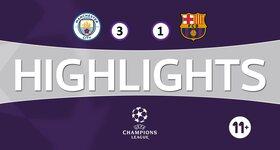 Manchester City FC 3 - 1 FC Barcelona