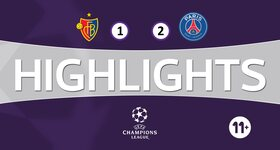 FC Basel 1893 1 - 2 Paris Saint-Germain