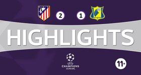 Atletico Madrid 2 - 1 FK Rostov