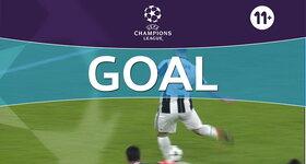Goal: Juventus 1 - 0 Lyon