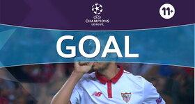 Goal: Sevilla FC 2 - 0 GNK Dinamo Zagreb
