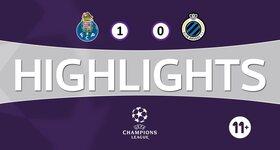 FC Porto 1 - 0 FC Bruges