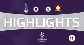 Tottenham 0 - 1 Bayer Leverkusen