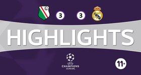 Legia Varsovie 3 - 3 Real Madrid CF