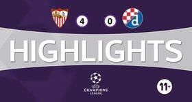 Sevilla FC 4 - 0 GNK Dinamo Zagreb
