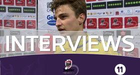 Interviews Saint-Trond (Saint-Trond - FC Bruges)