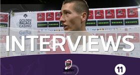 Interviews FC Bruges (Saint-Trond - FC Bruges)