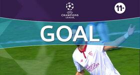 Goal: Sevilla FC 1 - 0 Juventus, Pareja : 9'