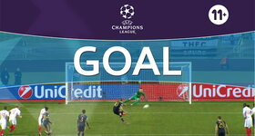 Goal: Monaco 1 - 1 Tottenham, Kane : 52'