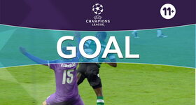 Goal: Sporting Lisboa 1 - 1 Real Madrid CF: 80', Adrien Silva