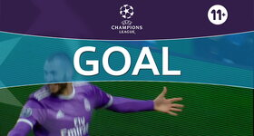 Goal: Sporting Lisboa 1 - 2 Real Madrid CF, Benzema : 87'
